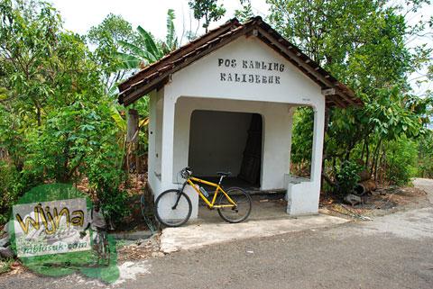 Pos Kamling Kalijeruk di desa Boro, Kalibawang, Kulon Progo