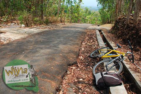Tanjakan di desa Boro, Kalibawang, Kulon Progo