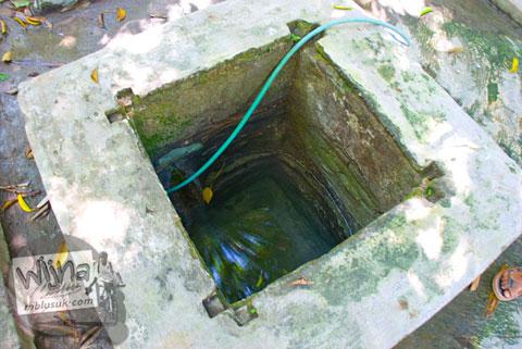 sumur kecil yang diduga sebagai sumber mata air Sendang Bayutemumpang di Desa Bangunjiwo, Kasihan, Bantul, Yogyakarta