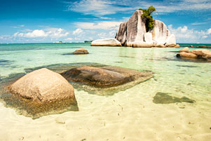Thumbnail untuk artikel blog berjudul Menjamah Sudut-Sudut Pantai Tanjung Kelayang