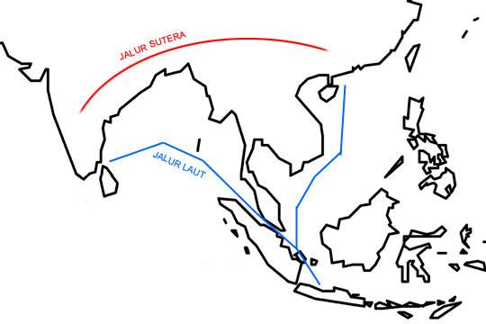 Jalur Pelayaran India Cina di zaman dulu