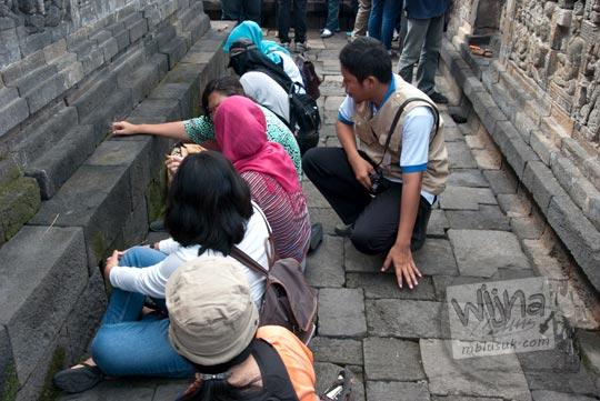 Aksi Lestari untuk Candi Borobudur tahun 2016