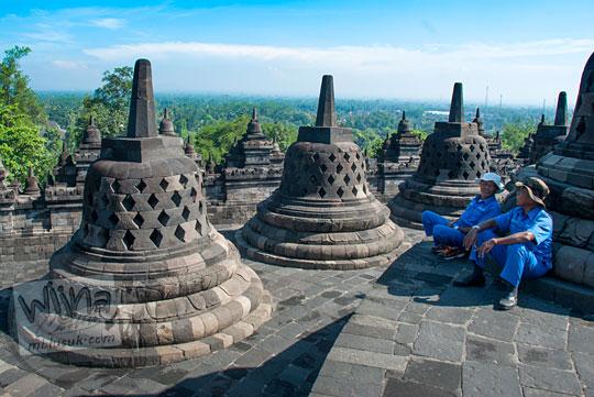 Seragam Petugas Balai Konservasi Borobudur