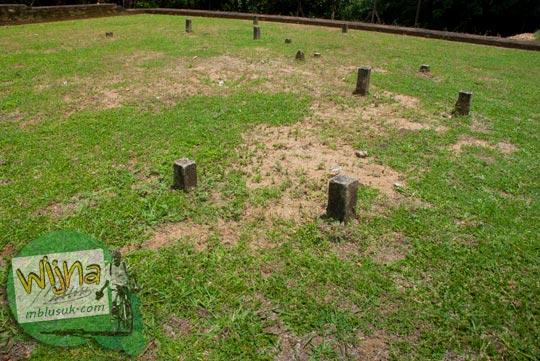 Sejarah Patok batu di kawasan Candi Kembar Batu Muaro Jambi di tahun 2015