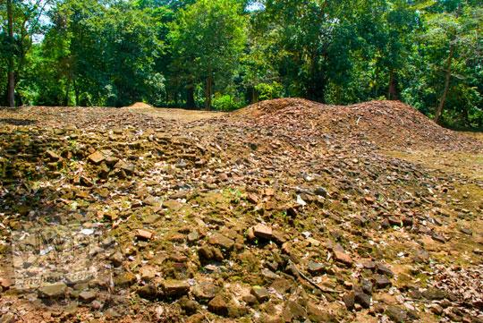 berbagai macam upaya pemeliharaan dan pelestarian situs-situs purbakala di kompleks Candi Sialang Muaro Jambi pada April 2015