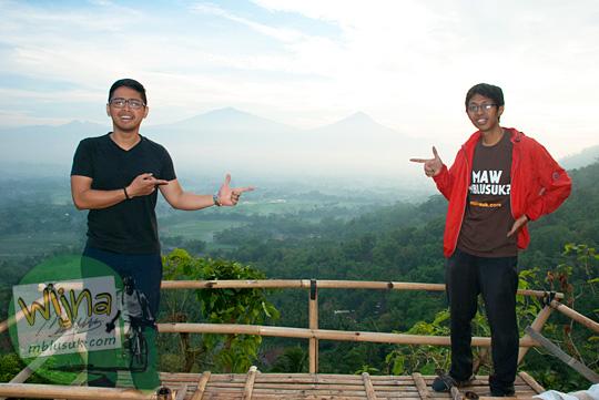 Dimas Aji Bayuadhi dan Wihikanwijna di Bukit Kendil, Magelang, Jawa Tengah
