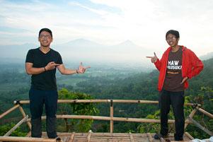Thumbnail artikel blog berjudul Menyapa Empat Gunung dari Bukit Kendil Giritengah