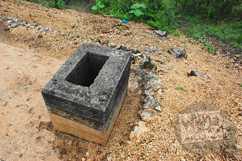 lubang udara Gua Jepang Pundong, Bantul pada Desember 2015