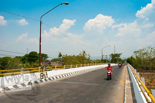 Kisah di balik keberadaan Jembatan Banmati di Sukoharjo, Jawa Tengah pada September 2015