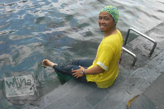 Kesan dan pesan wisatawan asal Jakarta di Obyek Wisata Umbul Ponggok, Klaten, Jawa Tengah pada tahun 2016