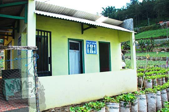 masalah ketersediaan toilet umum dan rest area di jalan raya provinsi Karanganyar dan Magetan