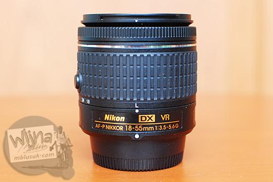 review pengalaman lens AF-P DX Nikkor 18-55mm f/3.5-5.6G VR user experience