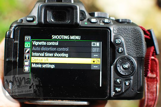 vibration reduction VR setting lens AF-P DX Nikkor 18-55mm f/3.5-5.6G VR in DSLR firmware update