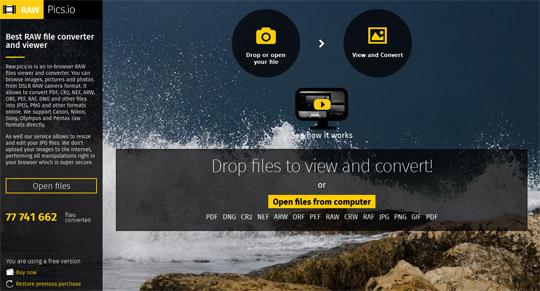 Tutorial RAW Converter ubah file foto RAW jadi file JPEG dengan aplikai RAW.Pics.io