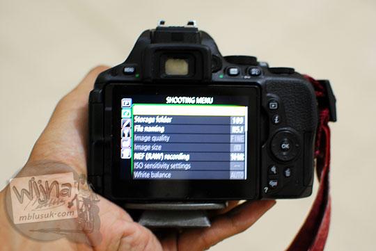 Menu-menu rahasia dan tersembunyi di setting kamera DSLR Nikon D5500 yang jarang diketahui fotografer pemula
