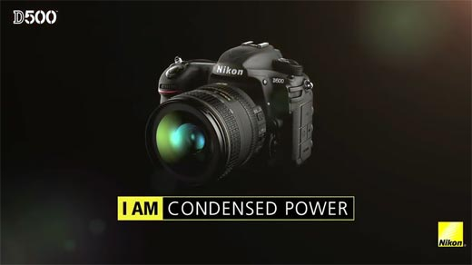 Review DSLR Nikon D500 I am Condensed Power