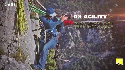 Review DSLR Nikon D500 DX Agility