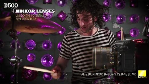 Review DSLR Nikon D500 Professional Nikkor Lenses
