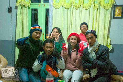 kawan baru di dieng culture festival 2016