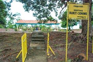 Thumbnail artikel blog berjudul Blusukan di Pulau Lingga: Meriam Belanda Bukit Cening