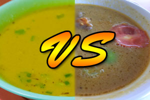 Thumbnail untuk artikel blog berjudul Soto Sinar Pagi vs Soto Terminal 1A