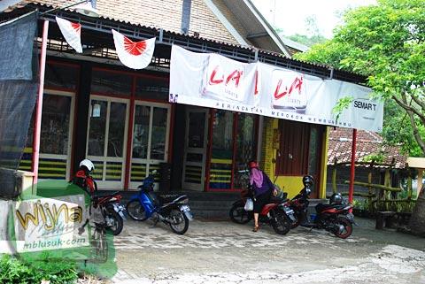 minimarket semart di Gerbosari, Samigaluh, Kulon Progo