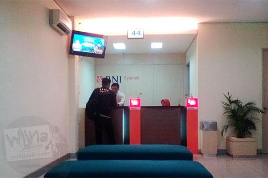 Besar biaya pendaftaran wisuda dari Bank BNI Syariah di UIN Sultan Syarif Kasim, Pekanbaru, Riau pada tahun 2016