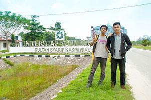 Ikut Pangeran Wortel ke Kampus UIN SUSKA Riau