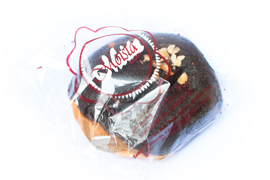 kemasan plastik roti cokelat moista bakery pada tahun 2016