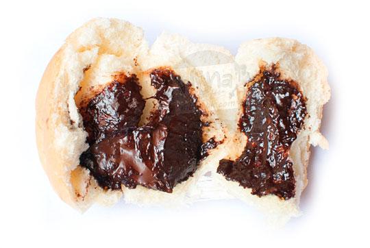 resep rahasia cara membuat bikin krim selai isi sari roti rasa cokelat seperti aslinya