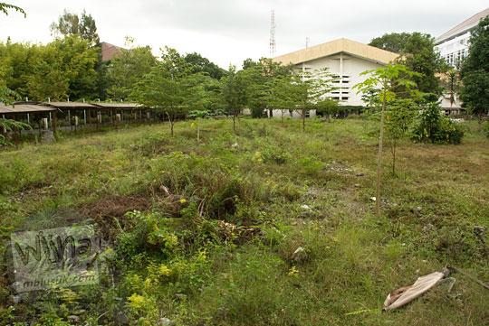 Lahan Kosong bekas Kampus FMIPA Utara UGM di tahun 2013