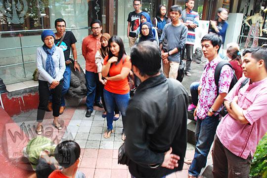 Belajar Sejarah dengan asyik bareng Komunitas Yogyakarta Night at the Museum di Museum Sonobudoyo, Yogyakarta pada Ramadan di Museum tahun 2016