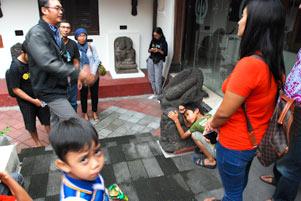 Ngabuburit di Museum Sonobudoyo Bareng Arca-Arca