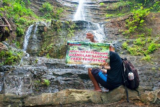 Cerita mistis membuang sampah sembarangan di kawasan Air Terjun Surupethek, Bantul di tahun 2015