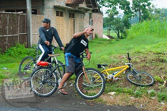 Teman Bersepeda ke Air Terjun Surupethek, Pleret, Bantul di tahun 2015