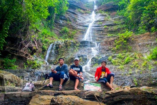 Air Terjun Surupethek yang tersembunyi dan perawan di Pleret, Bantul di tahun 2015