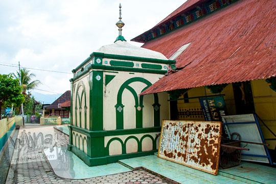 mihrab imam masjid pondok tinggi sungai penuh jambi 2015