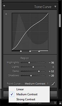 pengertian penjelasan cara edit foto di adobe Lightroom memakai fitur curves slider highlight shadow light dan dark