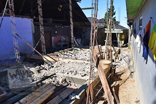 maraknya pembangunan homestay di Desa Sembungan Kejajar Wonosobo Jawa Tengah