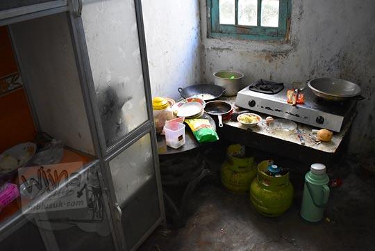 dapur tradisional Jawa di salah satu homestay di Desa Sembungan Kejajar Wonosobo Jawa Tengah