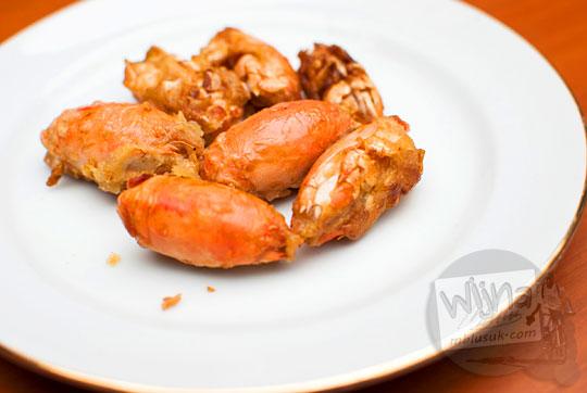 resep menggoreng yutuk undur undur laut agar tetap renyah dan gurih