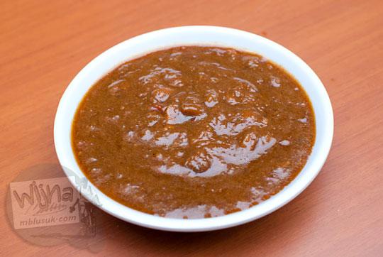 cara membuat resep kuah sambal tempe enak manis gurih khas sate ambal pak kasman