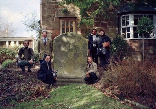 berita dan foto kondisi terbaru prasasti sangguran atau lord minto stone di skotlandia