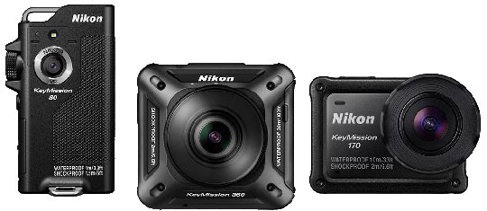 review kamera aksi Nikon Key Mission Indonesia