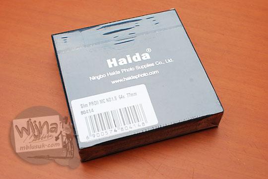 artikel blog fotografi review ulasan pendapat bagus nggak filter neutral density nd64 nd400 nd1000 merk haida berbahasa indonesia