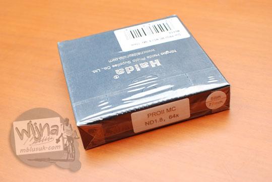 artikel tulisan paparan hasil pengujian kualitas hasil foto memakai produk filter neutral density nd64 nd400 nd1000 merk haida dengan kamera dslr mirrorless nikon canon sony fuji yang dijual di indonesia