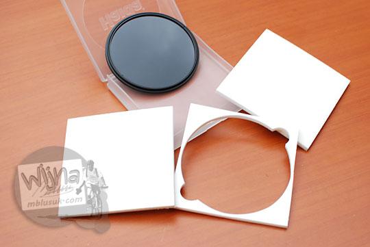 pilihan daftar filter neutral density nd dan cpl terbaik untuk kamera dslr dan mirrorless nikon sony fuji canon kualitas bagus dengan harga murah mahasiswa