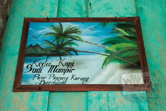 lukisan indah pantai pasir panjang di pulau lingga kepulauan riau
