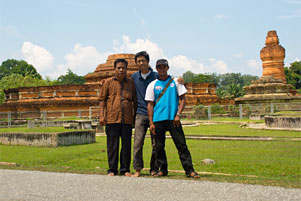 Backpacking ke Candi Muara Takus