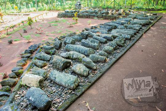 sejarah penelitian karakteristik jenis bentuk perbedaan ukuran menhir purbakala prasejarah yogyakarta zaman megalitikum gunungkidul yang ada di situs sokoliman desa bejiharjo karangmojo
